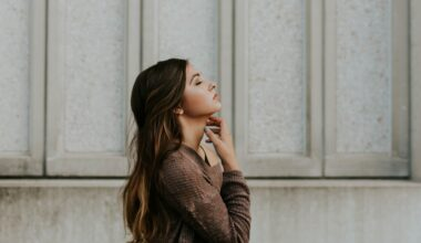 woman taking time to think